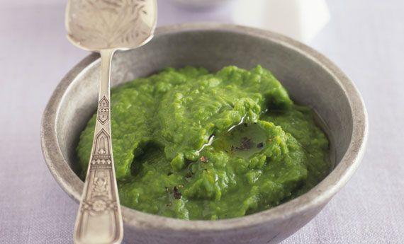 Hummus di piselli vegan, la ricetta velocissima | 100% green kitchen