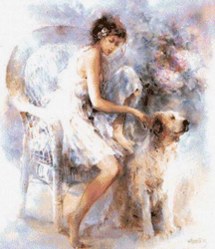 dziewczyna z psem, предпросмотр