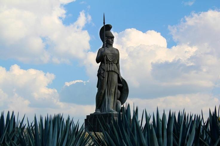 Glorieta de la Minerva, Guadalajara, Jalisco, México