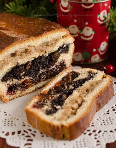 """Wspaniałe bożonarodzeniowe ciasto, którego korzenie sięgają kuchni kresowej. """"Dziad"""" prawdopodobnie powstał w opozycji do wielkanocnej baby,..."""