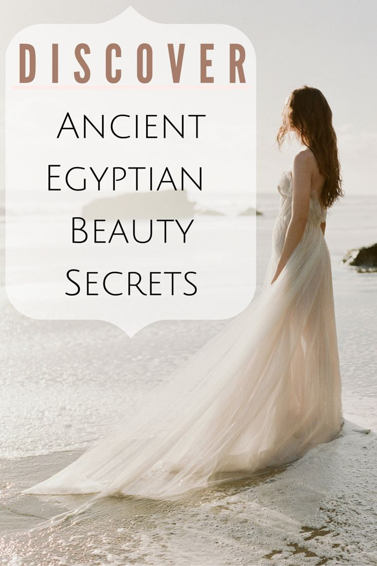 I LOVE finding out ancient beauty secrets.. they're always pure and effective!
