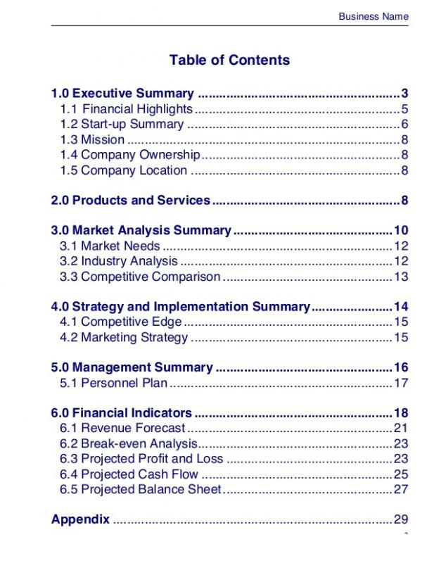 executive summary template doc template pinterest templates