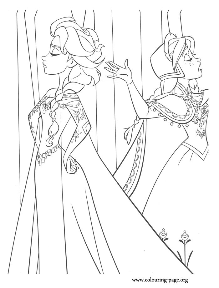 149 best images about frozen coloring pictures on