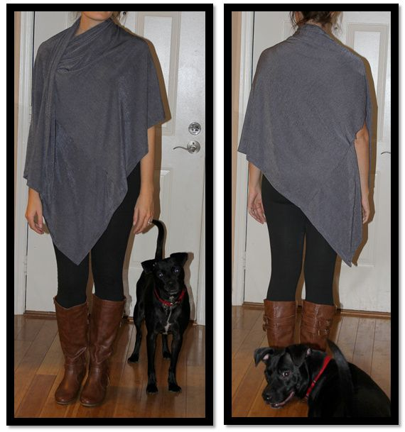 DIY Bina Wrap/Cardigan/Blouse/Scarf