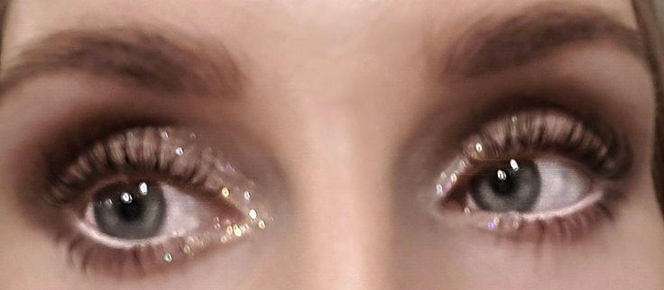 Glitter eyes - josieholmlund  @josefinholmlund