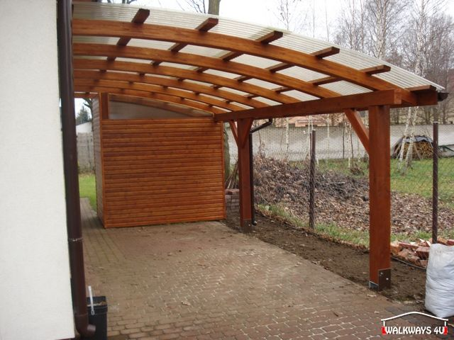 25 best ideas about carport dach on pinterest pergola for Attractive carport