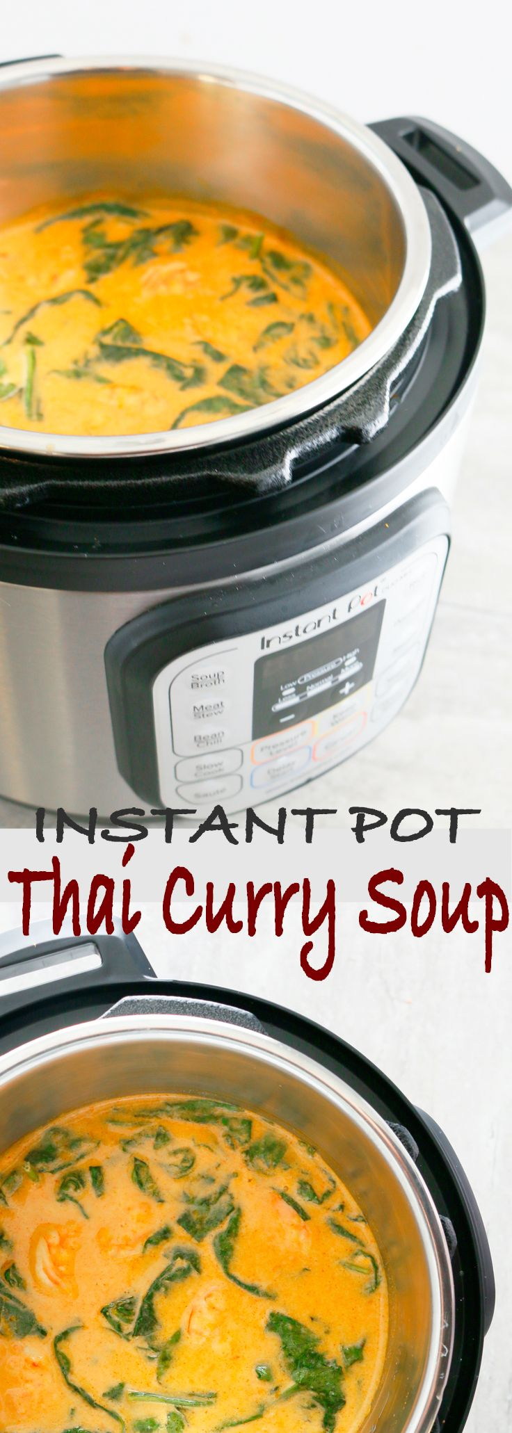 Instant pot soup recipes | instant pot recipes | Thai soup recipes | thai curry soup | easy thai curry soup | thai shrimp soup | easy shrimp soup recipes | shrimp soup recipes |sweet potato soup |