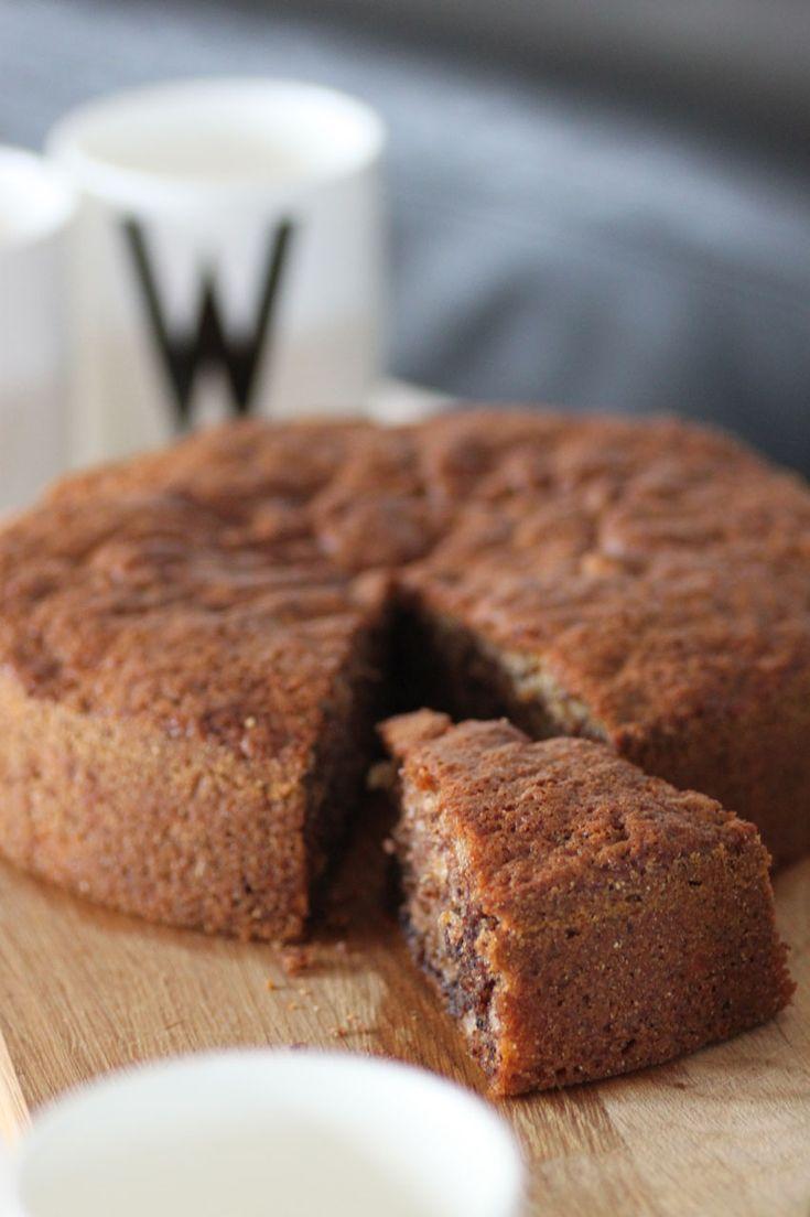 Banan Choklad & Nutellakaka | Bakverk och Fikastunder