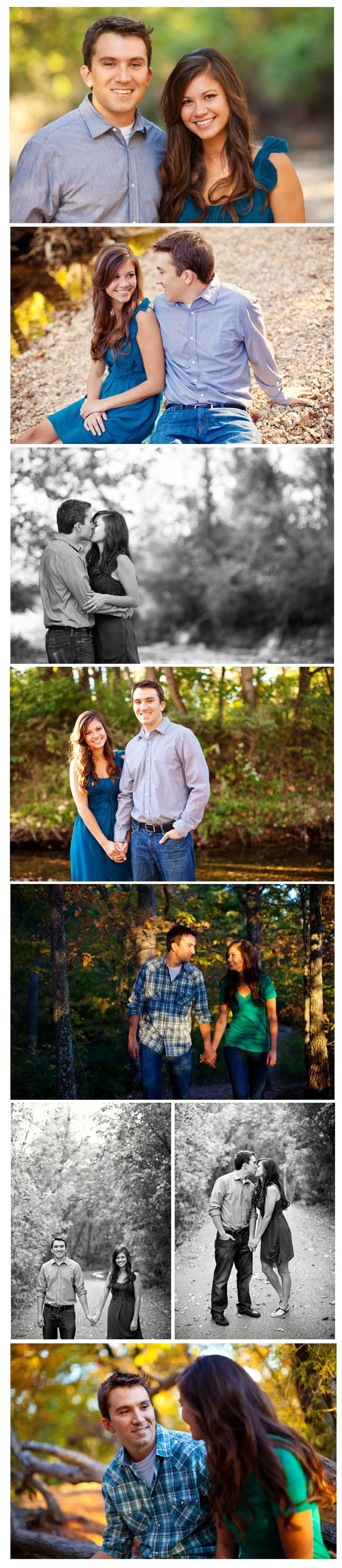 These are some cute engagement pictures