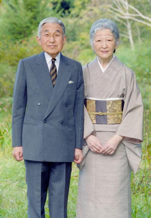 天皇皇后両陛下 Emperor Akihito and Empress Michiko.