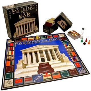 Passing the Bar Board Game. when I go to law school, please buy this for meee.