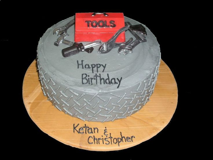 Tool Cake  on Cake Central