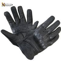 Xelement Vented Naked Leather Motorcycle Gloves - LeatherUp.com