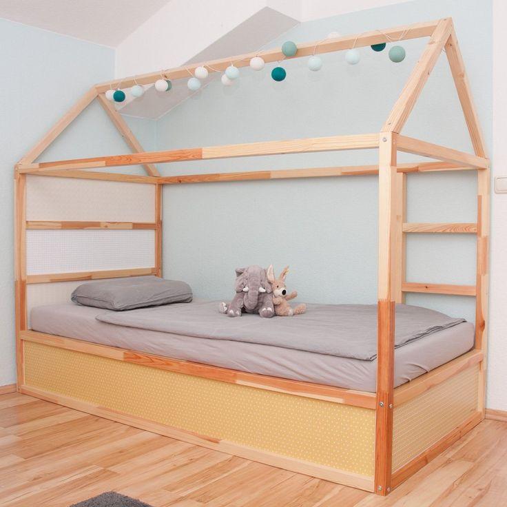 Nous avons rassemblé les meilleures idées pour le lit de maison IKEA KURA. Dans …   – Kind