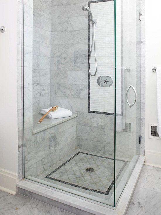 nude in steam shower