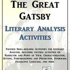 a literary analysis of the characters plot setting and theme in the great gatsby a novel by f scott  Characterization definition characterization is a literary device that is used step-by-step in literature to highlight and explain the details about a character in a story it is in the initial stage in which the writer introduces the character with noticeable emergence.