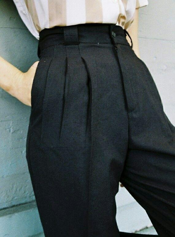 Añoro pantalones a la cintura,