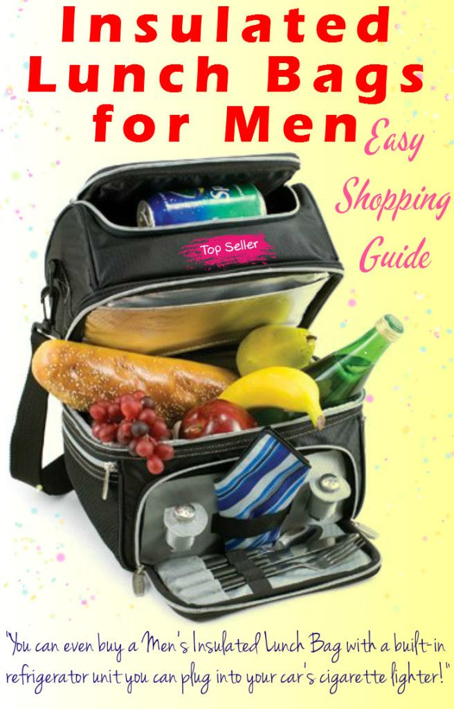 Insulated Lunch Bags for Men – Easy Guide :http://willsbest5list.com/insulated-lunch-bags-for-men-easy-guide/