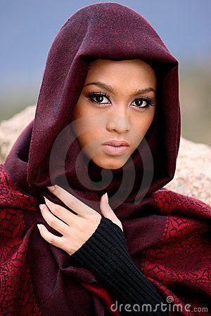Beautiful Muslim girl wearing hijab