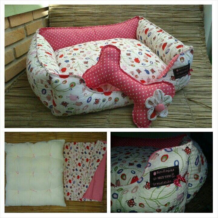 ♥ caminha cesto, totalmente lavável, com almofada dentro costurada como um futon....seu animalzinho vai adorar ♥