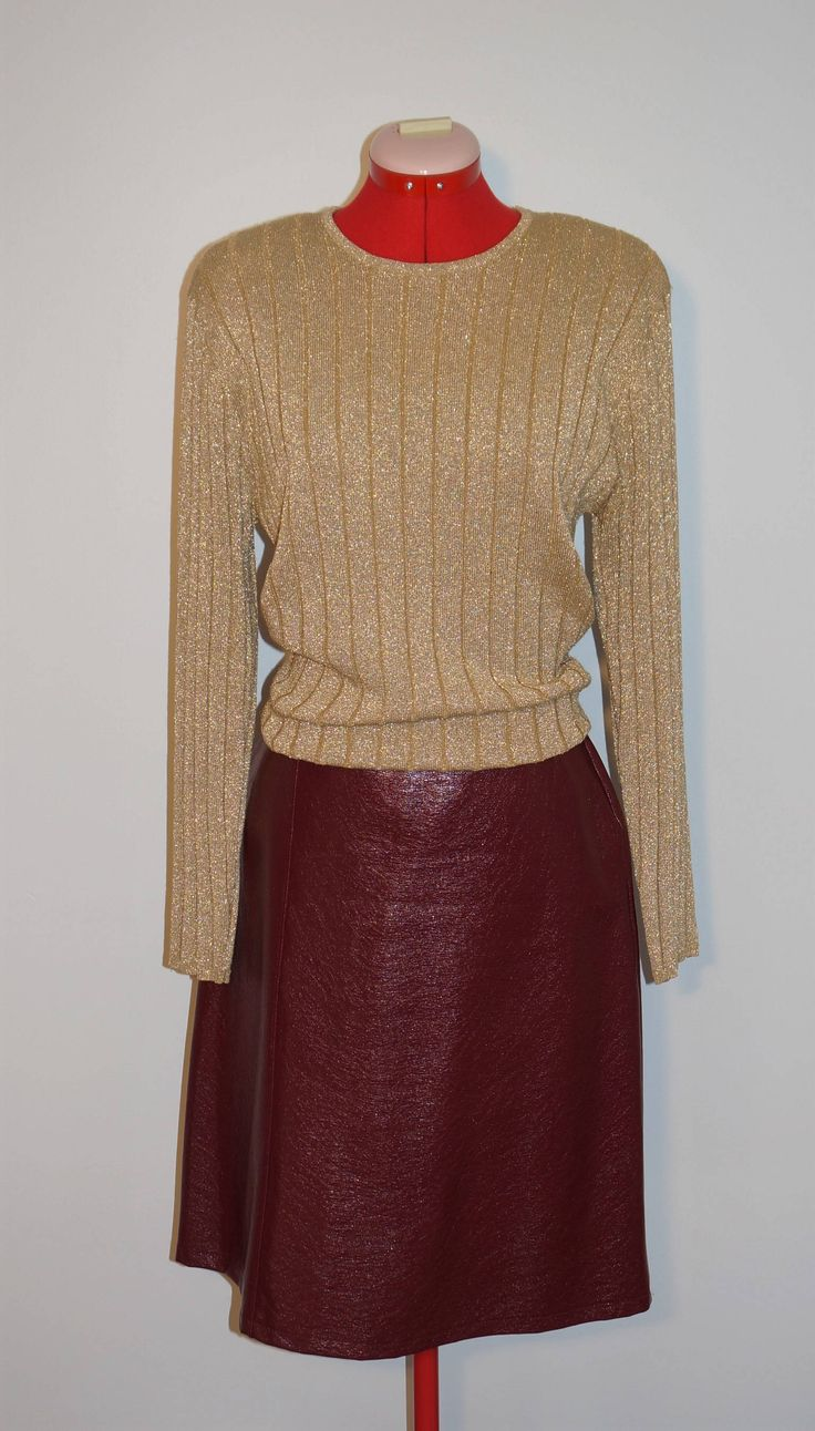 This metallic sweater top has been added to the shop.