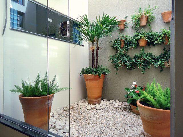 Jardim dentro e fora de casa: