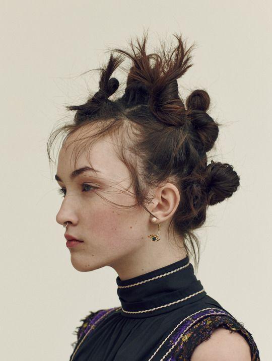 Angela Longton by Nicolas Kantor for Glamour UK, July 2015