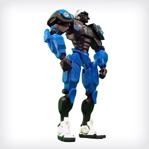 Carolina Panthers Team Robot Fox Robot #CarolinaPanthers