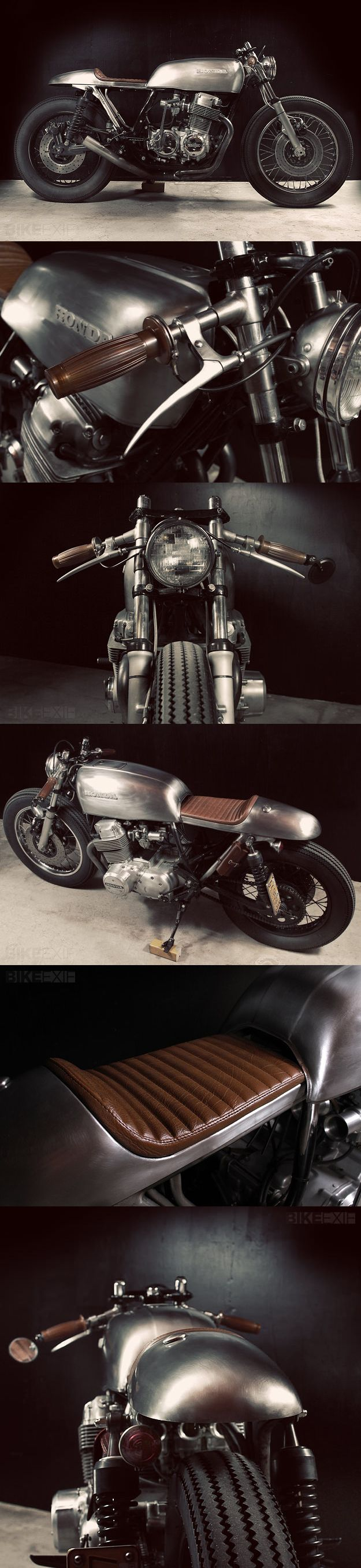 CROWE/TARANTULAS CB750. This has to be one of the best CB interpretations I've come across. Fantastic concept and workmanship.
