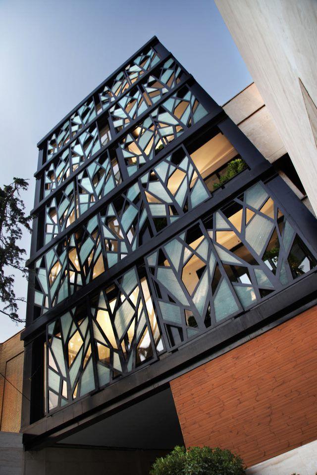 Beautiful Screen Walls make the building look like its constantly changing - Danial by Reza Sayadian + Sara Kalantary