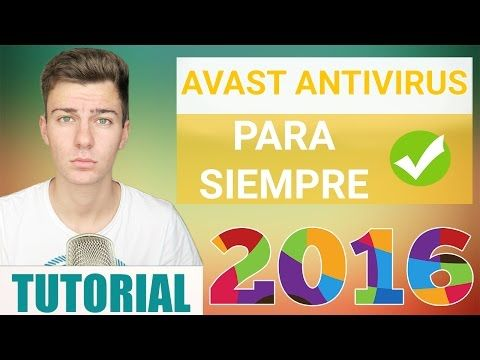 Descargar AVAST Antivirus 2016 FULL GRATIS | Windows 10, 8, 7 - YouTube