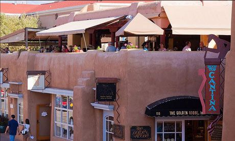 Top restaurants in Santa Fe- including La Cantina at Coyote Cafe