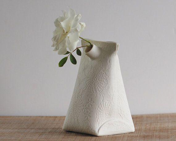 Artful Dodger Variations (Object N.3 Large) | Handmade ceramic vase |  Wapa Studio. via Etsy | 44.00USD