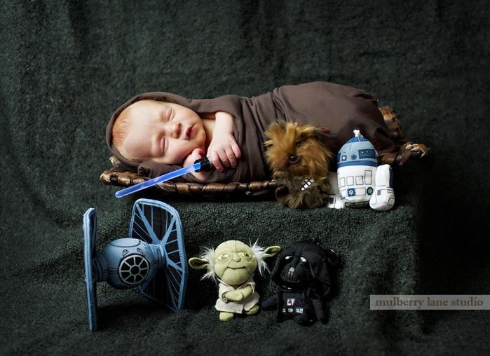 Star Wars Baby!! www.mulberrylanestudiophotography.com