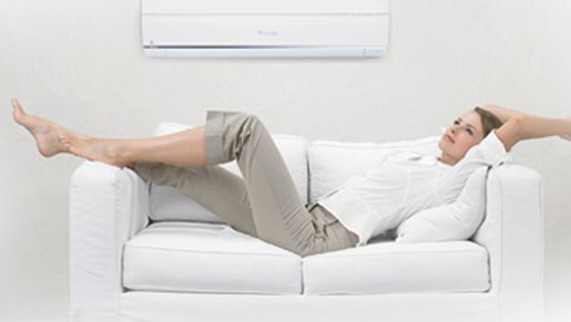 Feel the comfort of your new air conditioner by having the right system installed for your home! #airconditioning #PatriotAir
