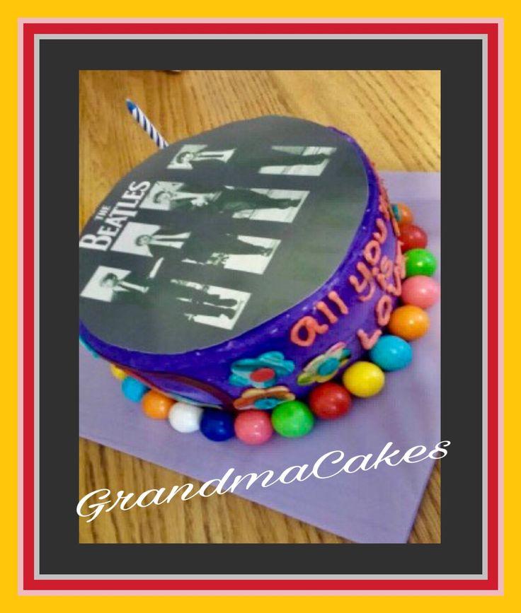17 Best Ideas About Beatles Cake On Pinterest Amazing