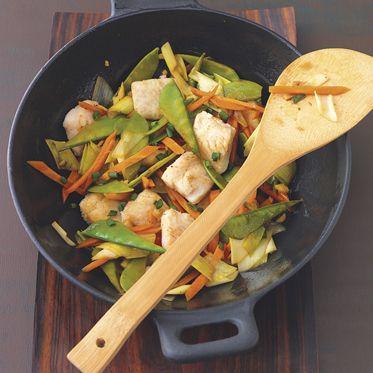 Karpfenfilet aus dem Wok Rezept | Küchengötter