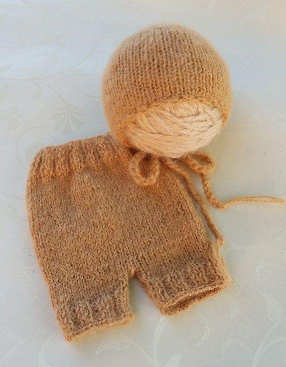 Newborn Prop Set Newborn Short Pants and by SquishyBabyStuff, $30.00