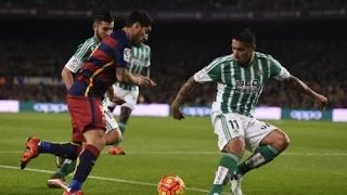 #Barcelona vs #RealBetis 4-0 All Goals & Highlights Liga BBVA 30 /12/ 2015