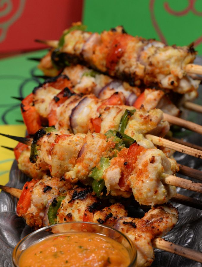 Ghana Chichinga A Delicious Street Food Made With Suya A Spicy Peanut Spice Awesome Get The