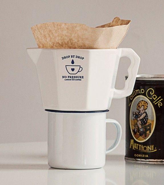 Cafetière manuelle à filtre