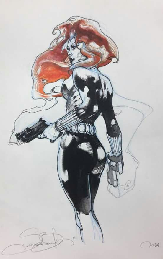 Black Widow by Simone Bianchi