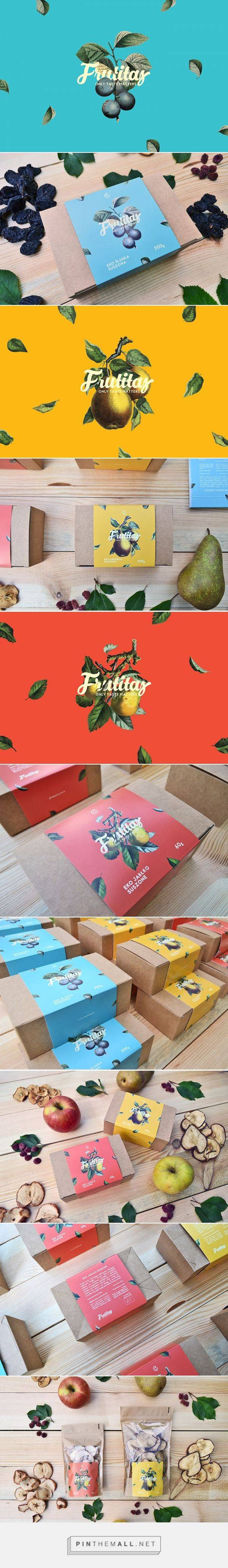 FRUTITAS processed fruit by PARIS+HENDZEL STUDIO. Pin curated by #SFields99 #packaging #design