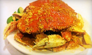 Groupon - Crab Plates for Two or Four, or Two Dozen Oysters and Two Drinks at Craw Station (Up to 52% Off) in San Francisco (Inner Sunset). Groupon deal price: $24.0.00