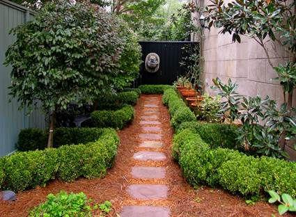 Camino para el jardín