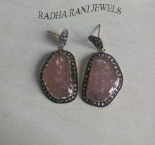Ruby Light (Tourmaline) Earrings,