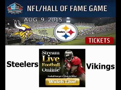 Watch Steelers vs Vikings Live Stream Online 2015 - Online TV