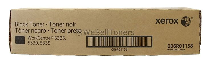 Xerox - 006R01158 Xerox Workcentre 5325 / 5330 / 5335 Black Toner Cartridge