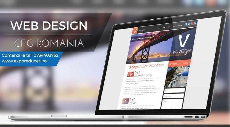 Web Design CFG Romania Comenzi la : office@exporeduceri.ro, 0734403752 www.exporeduceri.ro #webdesign #logo #website