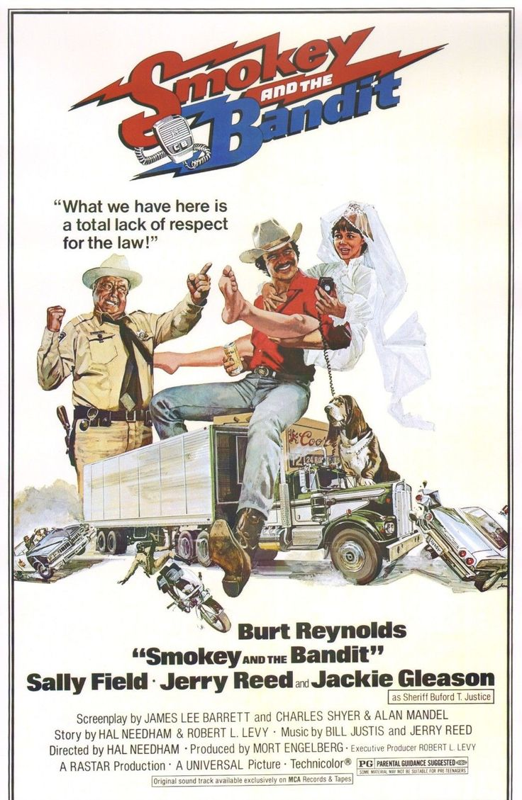 Details about smokey and the bandit 11x17 movie poster